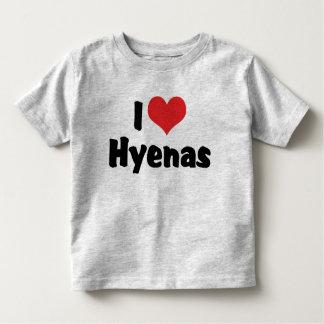 I Love Hyenas Shirt