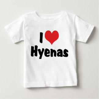 I Love Hyenas T Shirt