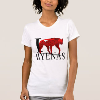 I Love Hyenas T-shirts