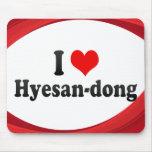 I Love Hyesan-dong, Korea Mouse Pad