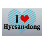 I Love Hyesan-dong, Korea Print