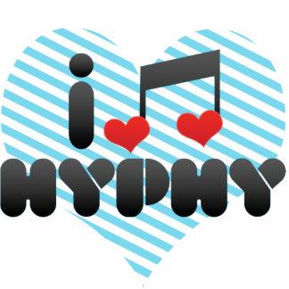 I Love Hyphy Photo Cutouts