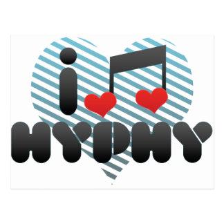 I Love Hyphy Postcard