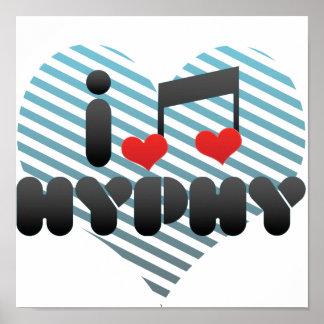 I Love Hyphy Print