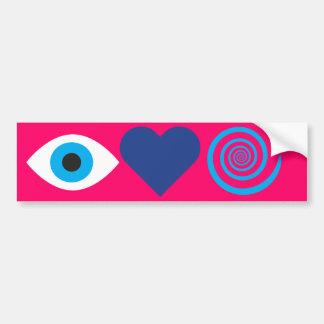 I Love Hypnosis Bumper Sticker
