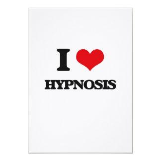 "I love Hypnosis 5"" X 7"" Invitation Card"