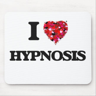 I Love Hypnosis Mouse Pad