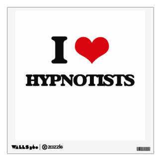 I love Hypnotists Wall Skins