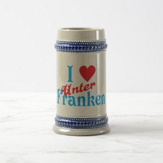 I love I love Lower Franconia Beer Stein