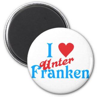 I love I love Lower Franconia Magnet