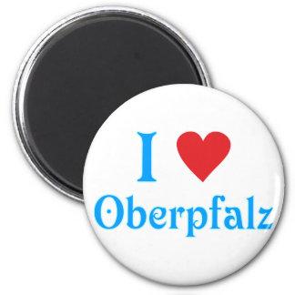 I love I love Upper Palatinate 2 Inch Round Magnet