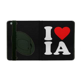 I LOVE IA iPad COVER