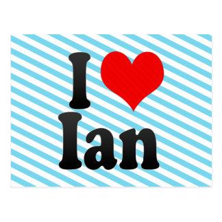 I love Ian Postcard