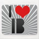 I Love IB Mouse Pad