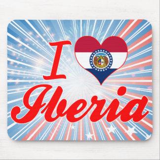 I Love Iberia, Missouri Mousepads