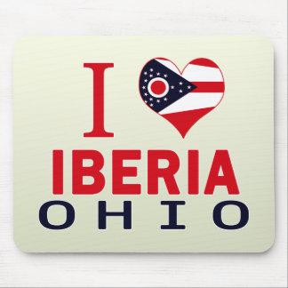 I love Iberia, Ohio Mouse Pads