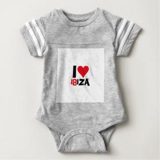 I love Ibiza 18IZA Special Edition 2018 Baby Bodysuit