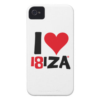 I love Ibiza 18IZA Special Edition 2018 Case-Mate iPhone 4 Case