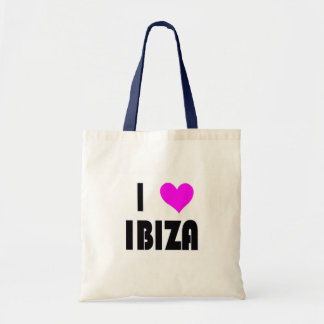 I Love Ibiza Budget Tote Bag