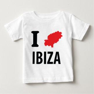 I love Ibiza contour icon Tshirts