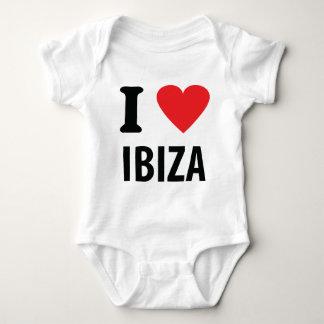 I love Ibiza icon Infant Creeper