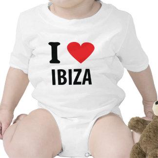 I love Ibiza icon T-shirt