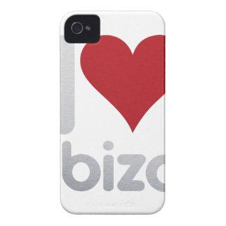 I LOVE IBIZA iPhone 4 Case-Mate CASE