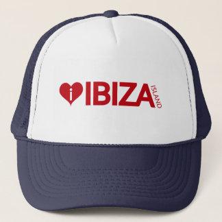i Love Ibiza Island Original Authentic souvenirs. Trucker Hat