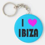 I Love Ibiza keychain