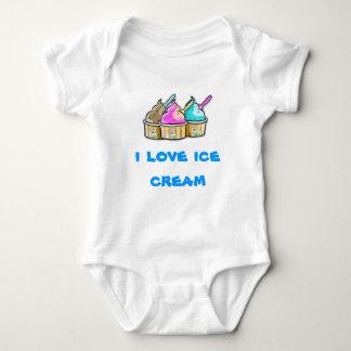 i love ice cream baby bodysuit