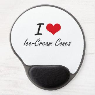 I love Ice-Cream Cones Gel Mouse Pad