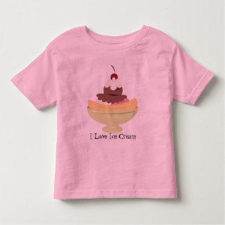 I Love Ice Cream kids t-shirt