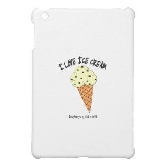 I LOVE ICE CREAM - LOVE TO BE ME iPad MINI COVER
