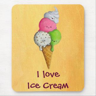 I love Ice Cream Mouse Pad