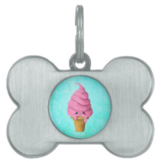 I love Ice Cream Pet ID Tags