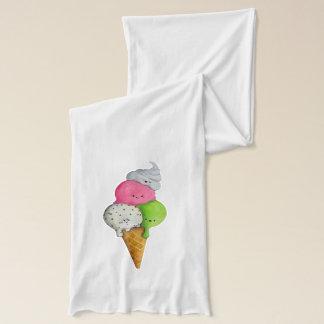 I love Ice Cream Scarf