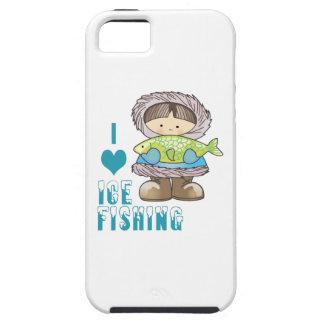 I Love Ice Fishing iPhone 5 Covers