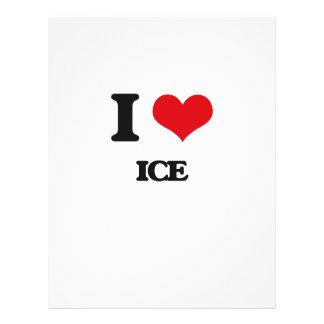 "I love Ice 8.5"" X 11"" Flyer"