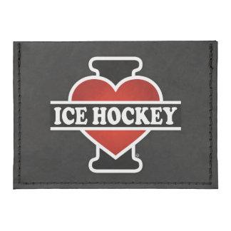 I Love Ice Hockey Tyvek® Card Case Wallet