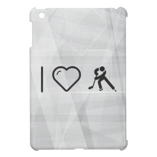 I Love Ice Hockey iPad Mini Cases