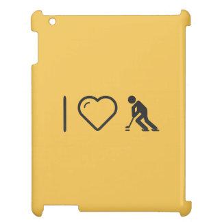 I Love Ice Hockeys Cover For The iPad