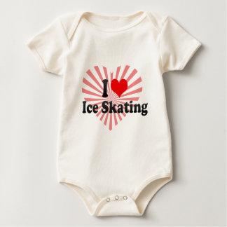 I love Ice Skating Baby Bodysuit