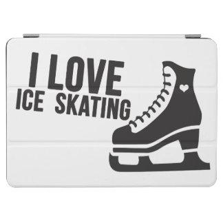 I Love Ice Skating ( figure skating ) iPad Air Cover