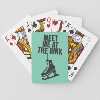 I Love Ice Skating ( figure skating ) Playing Cards