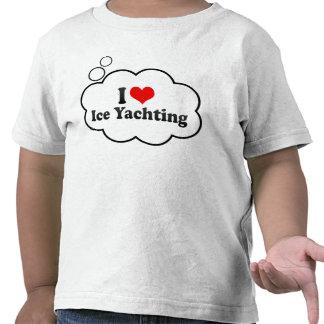 I love Ice Yachting T-shirt