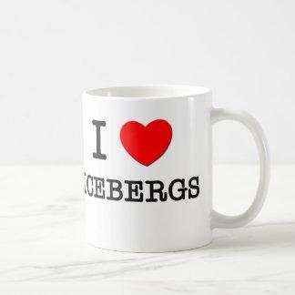 I Love Icebergs Coffee Mug