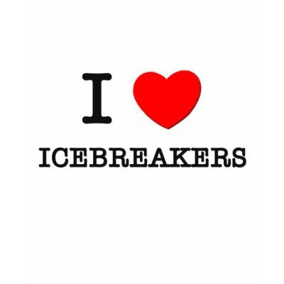christian adult icebreakers. I Love Icebreakers Tshirt by ilovemyshirt