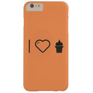 I Love Icecreams Barely There iPhone 6 Plus Case