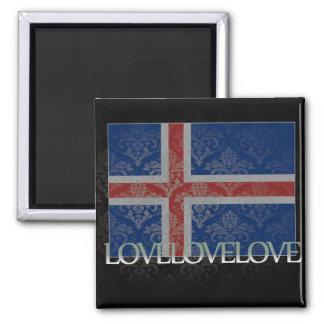 I love Iceland Cool Fridge Magnets