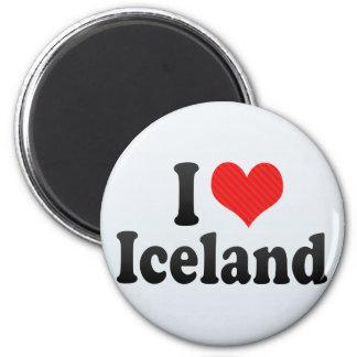 I Love Iceland Refrigerator Magnets